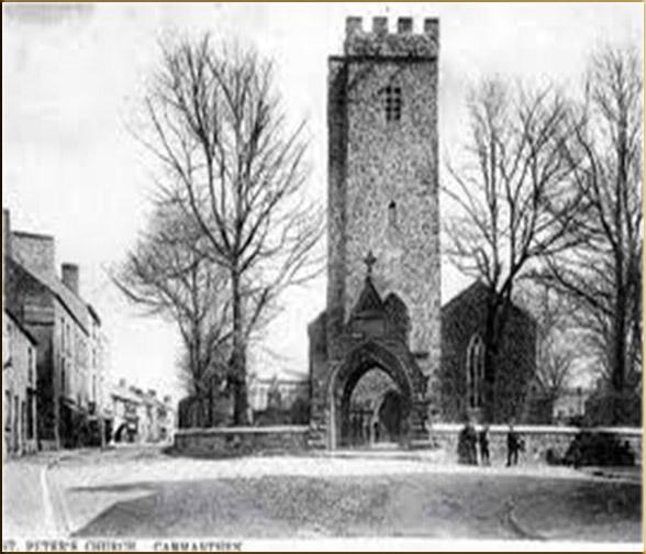 St Peter's Church Carmarthen