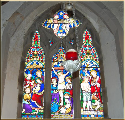 Stained Glass dedicated to Crawshay Bailey