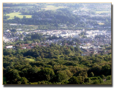 View of Aberdare
