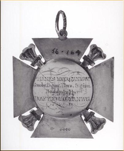Dafydd Morgannwg's Medal