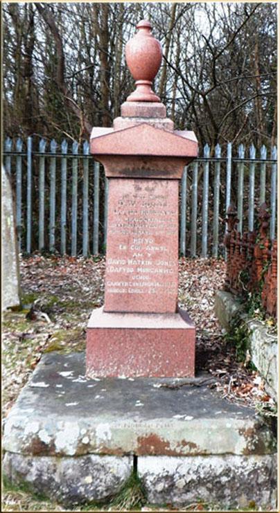 Dafydd Morgannwg's Grave Aberdare Cemetery