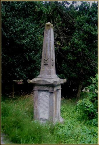 The grave of Thomas Price