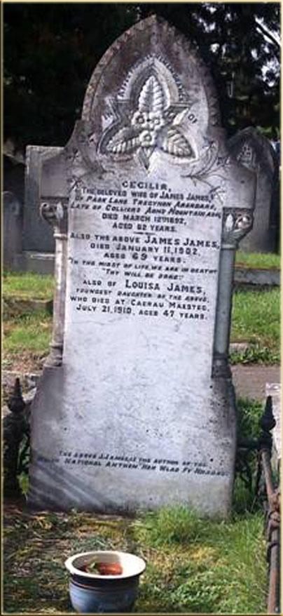 James James died 1902