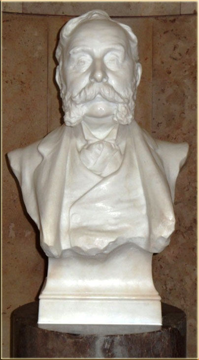 Bust of John Cory, Cardiff Museum