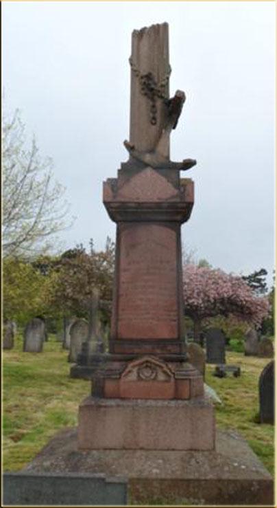 John Cory's Grave, Cathays Cemetery