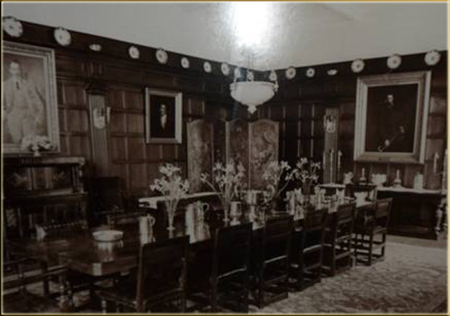 Dining Room Miskin Manor