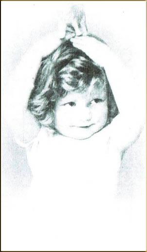 Margaret Thomas aged 2