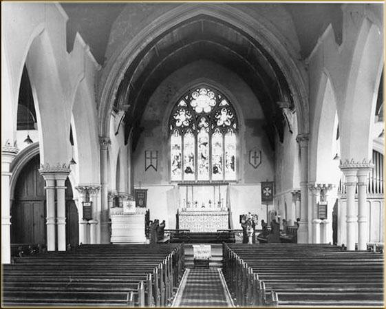 Inside St Mair's Church