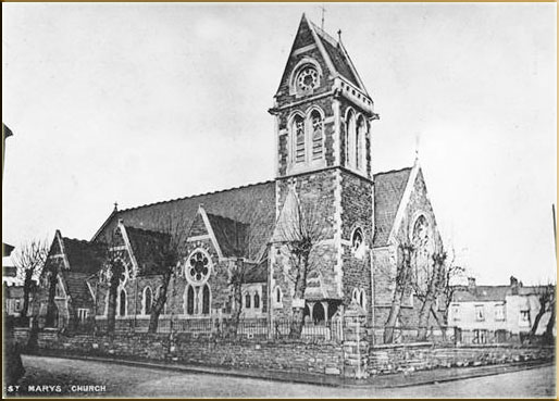 St Mair's Church Aberdare