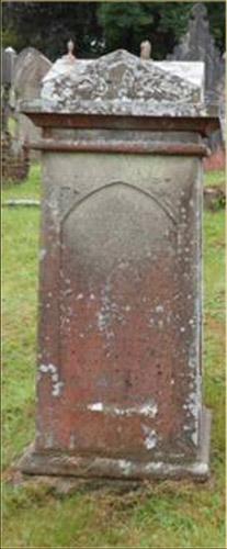 Grave of Hugh Hughes (Tegai)