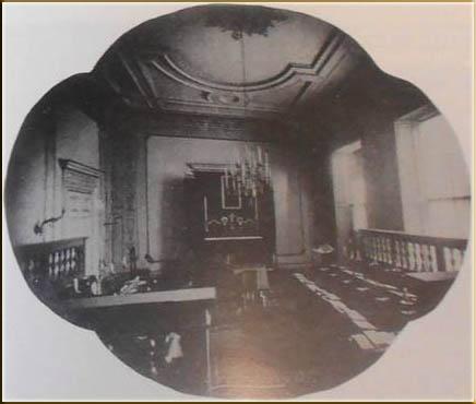 Chapel inside St Michael's College
