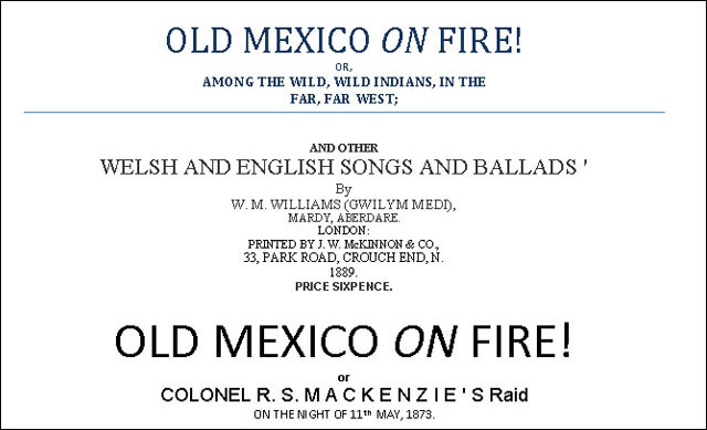 Old Mexico On Fire