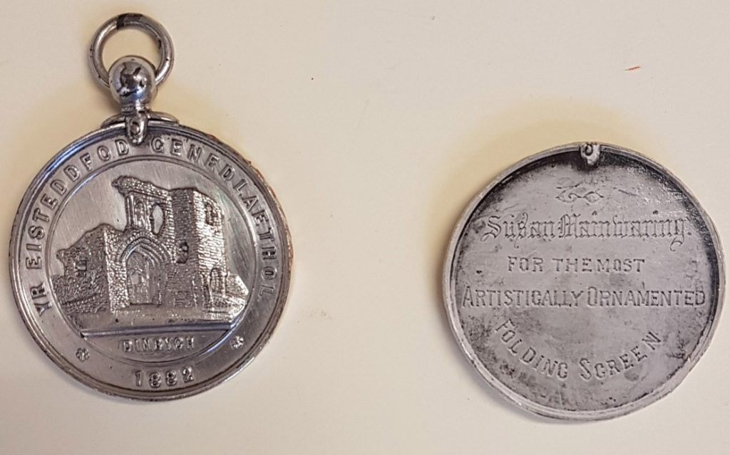 Miss Mainwaring (Medal Museum of Welsh Life Cardiff Ref 34/297)