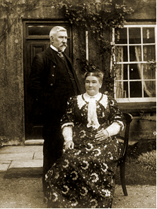 Rees Llewellyn and his wife Elizabeth Llewellyn