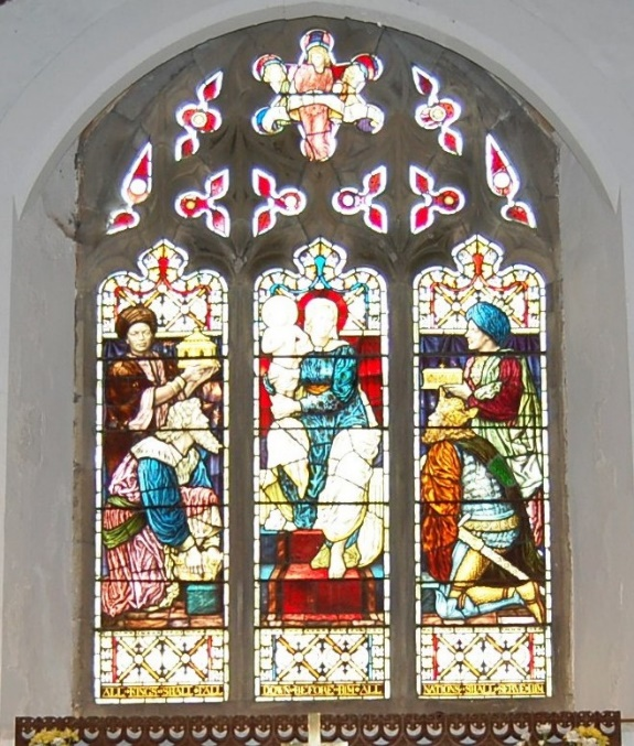 Stain Glass Adoration of the Magi