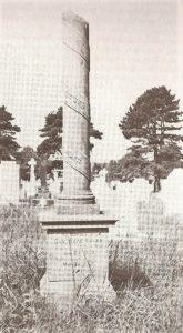 Picture of the original grave of Dan Isaac Davies