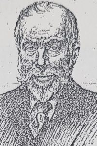 Drawing of Ernest Rhys