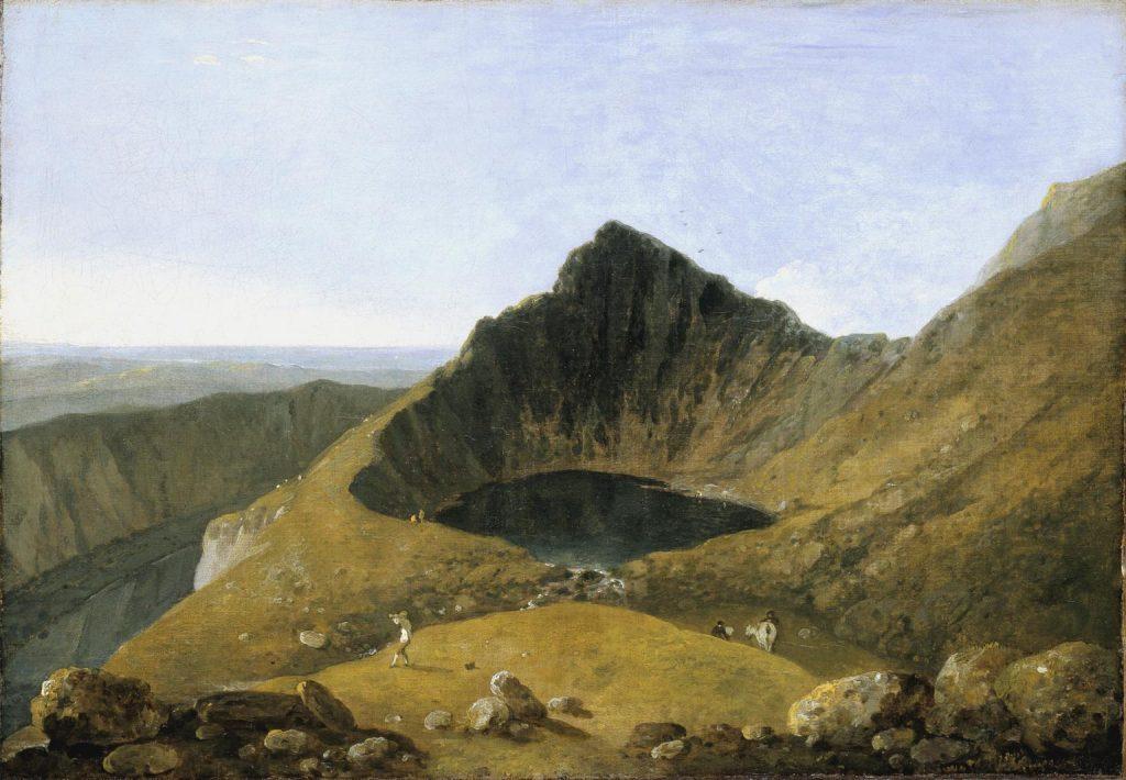 Paintin of Llyn y Cau