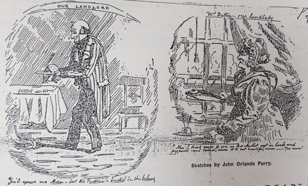 Sketches by John Orlando Parry