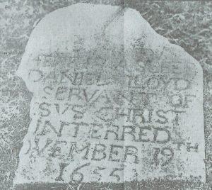 Grave of Daniel Lloyd
