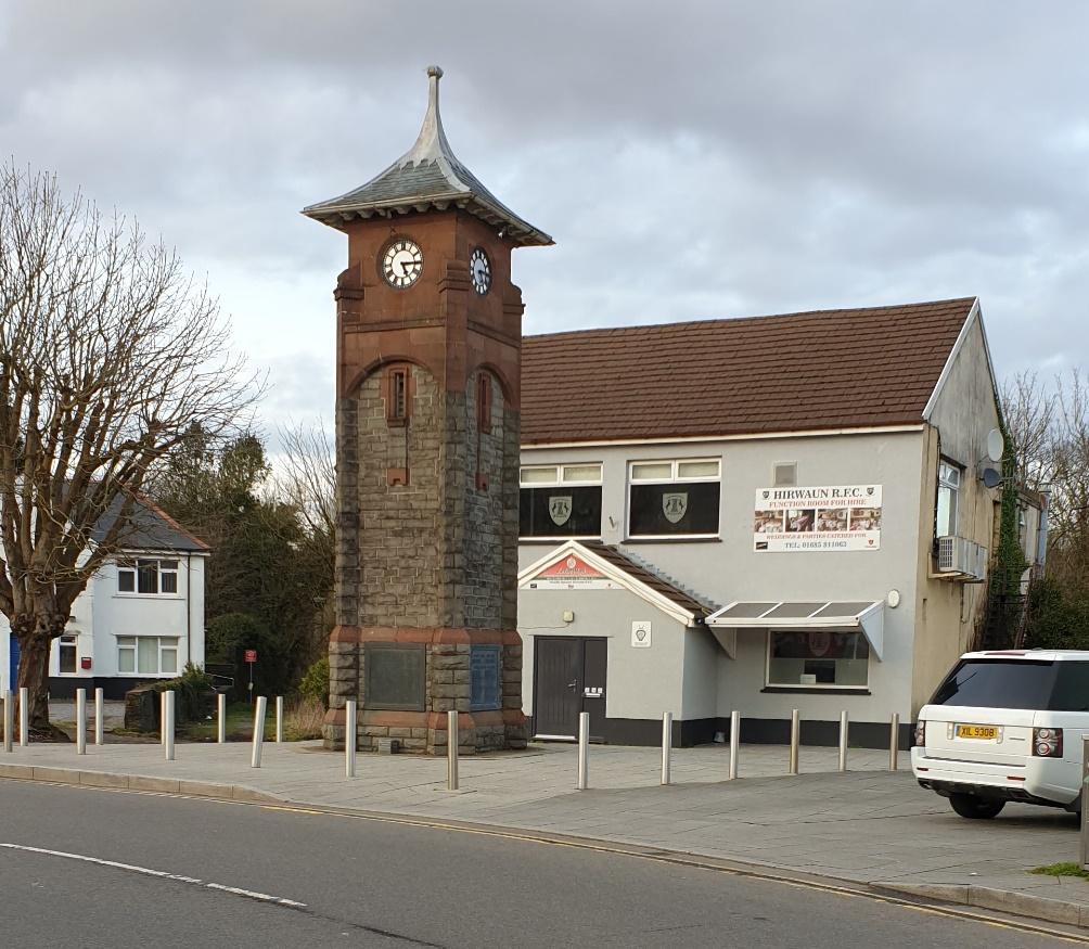 Picture of Hirwaun Memorial Clock Tower