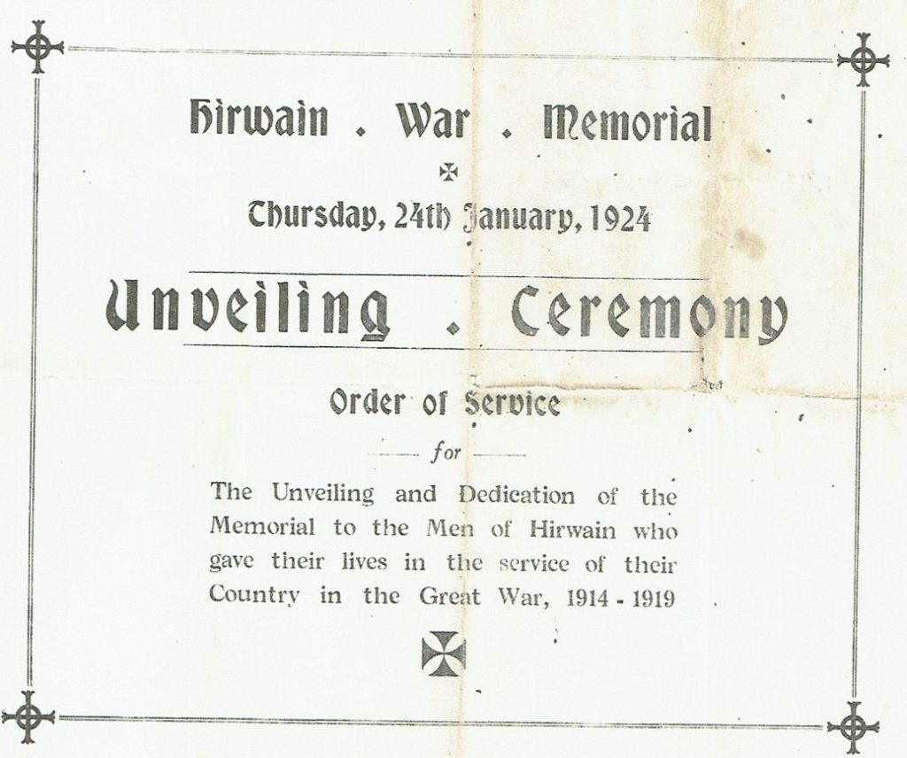 Picture of Order of Service Cover