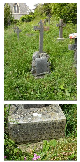 Picture of the Graves of Fothergill Family