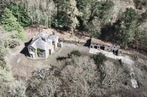 Picture of areal view of Lletyshenkin House