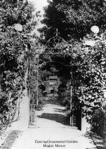 Picture of the Gate to the Ornamental Garden