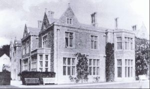 Picture of Miskin Manor around 1920's