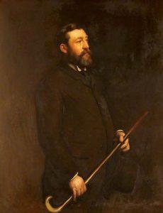 Portrait of Gwilym Williams