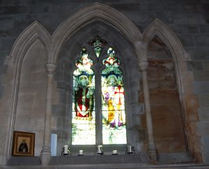 Picture of Window donated by Sir William T. Lewis