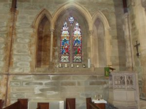 Picture of the window in memory of Emma Eleanor Williams
