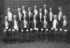 Picture of Mountain Ash Male Voice Choir (picture courtesy of R.C.T.C.B.C)